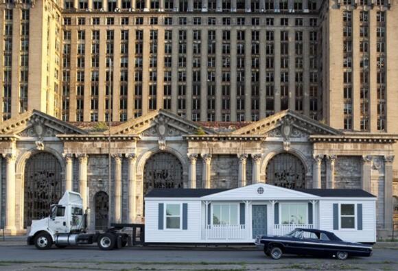 "Mike Kelley's ""Mobile Homestead"" | Courtesy of MOCA"