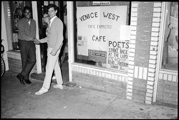 Exterior of the Venice West Cafe | Photo by: Charles Brittin