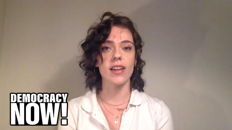 "Emily Wilder speaks on ""Democracy Now!"""