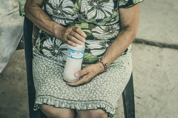 Celia Barajas, St. Anthony resident of 35 years.I Photo by Christian Mendez.