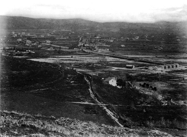 East Los Angeles (the future Lincoln Heights) in 1873. Courtesy of the Title Insurance and Trust / C.C. Pierce Photography Collection, USC Libraries.