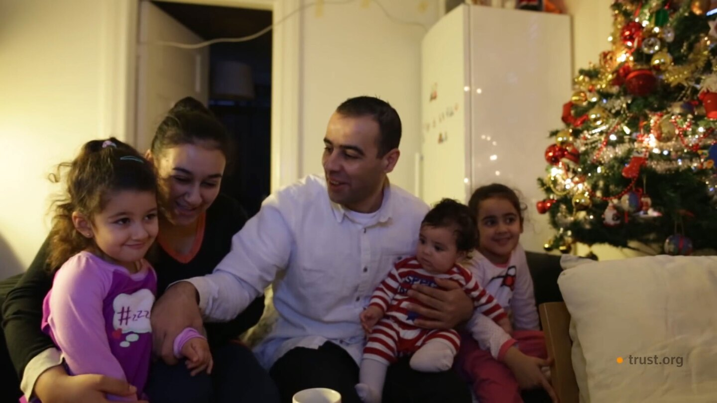 A Syrian Family in Iceland