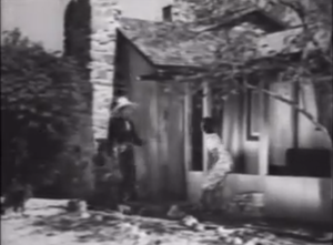 Herb Jeffries and Artie Young on Murray's Ranch | Screen capture from The Bronze Buckaroo, 1939