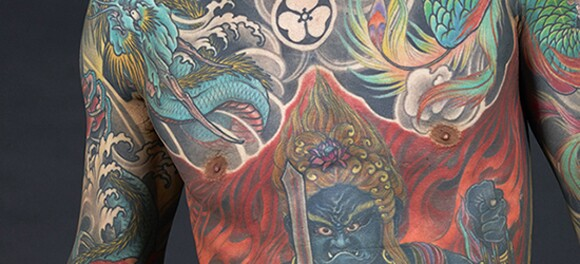 Tattoo by Shige (close up)