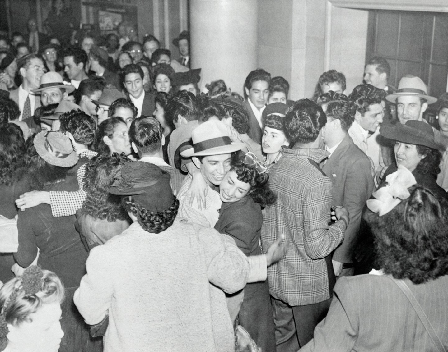 Zoot suit rioters/pachucos acquitted, 1944.