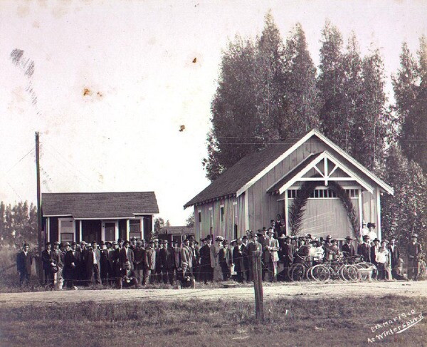 Opening ceremony for the Wintersburg Mission on May 8, 1910 | historicwintersburg.blogspot.com