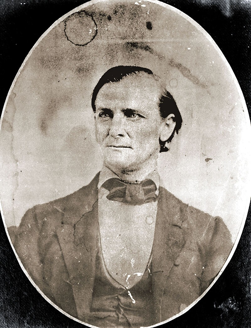 Joseph Lancaster Brent. Like many other secessionists, Brent left Los Angeles to join the Confederate army. Photograph courtesy of Security Pacific National Bank Collection, Los Angeles Public Library