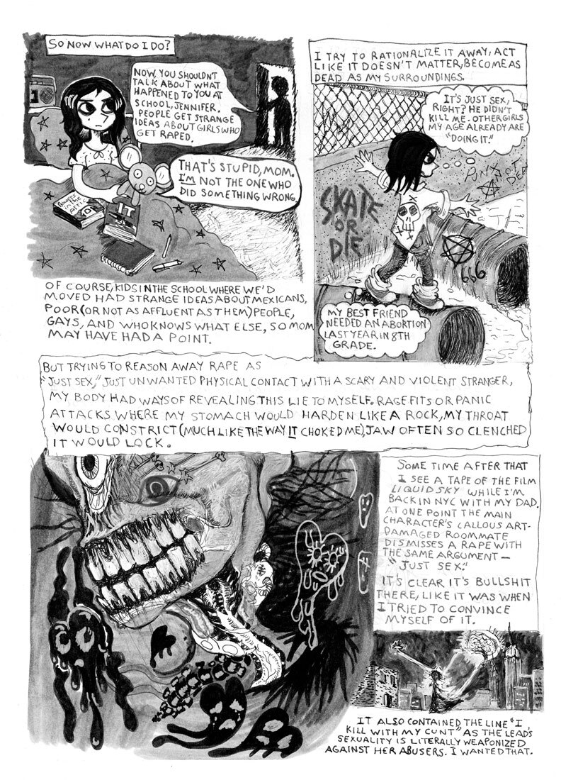 """""""'Blackie' From the Deuce"""" (page 3) 