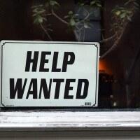 Help Wanted - Window