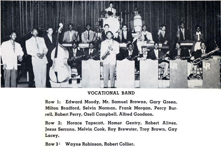 Sam Browne jazz teacher at Jefferson High L.A.