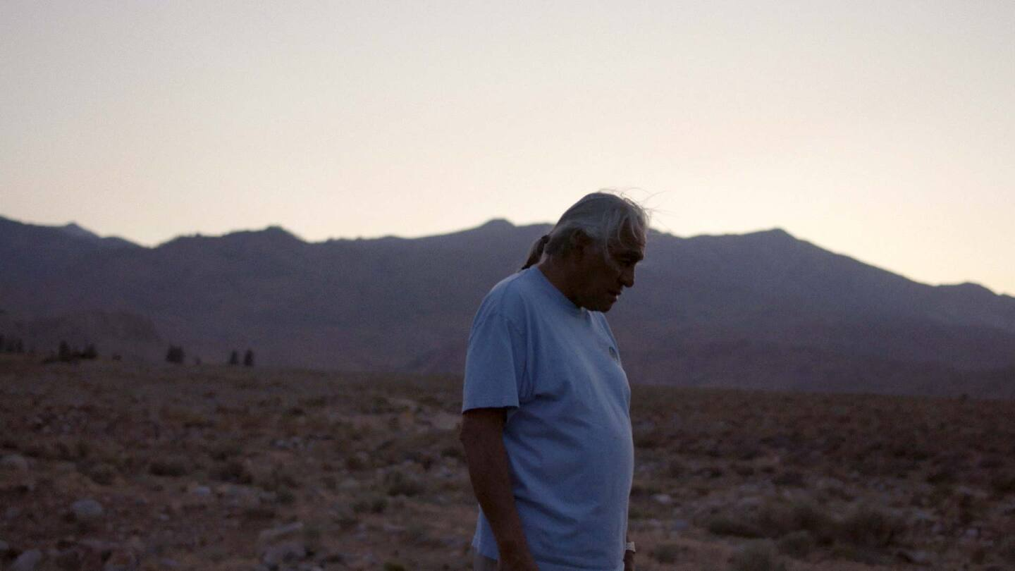 """Harry Williams, a Bishop Paiute elder and environmental activist. 