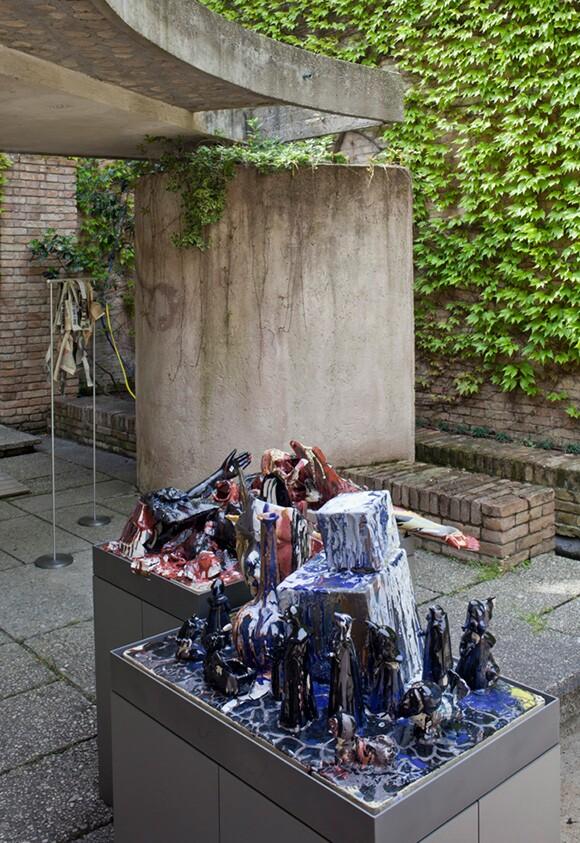 Walead Beshty, 56th International Art Exhibition - la Biennale di Venezia, All the World's Futures.  | Photo: Alessandra Chemollo.  | Courtesy la Biennale di Venezia.