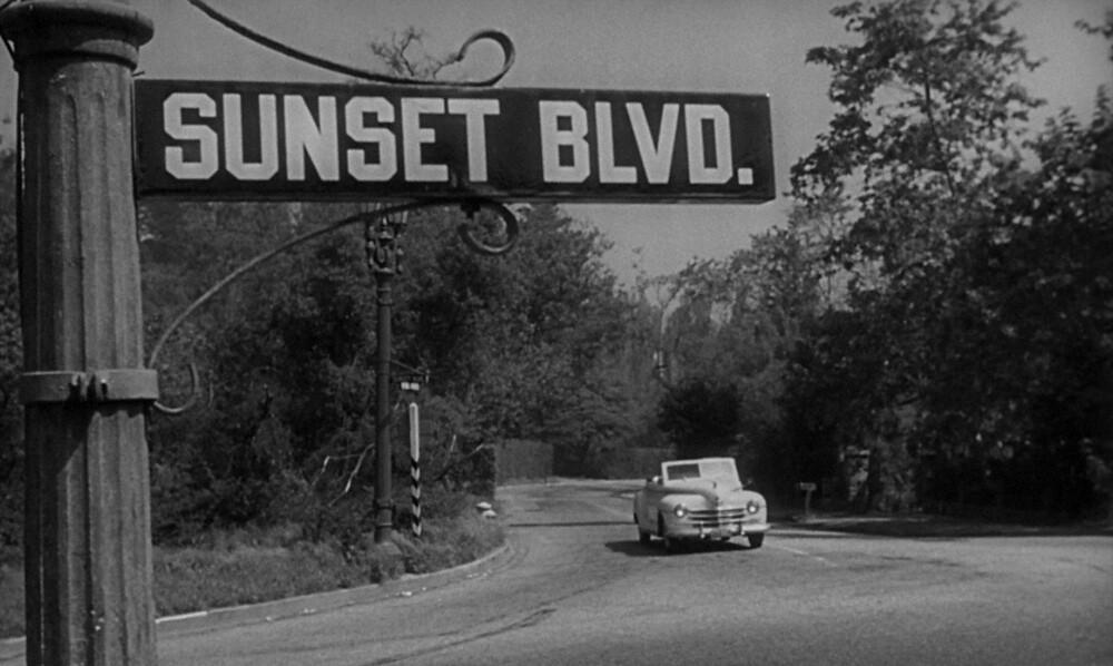"""Sunset Boulevard,"" 1950."