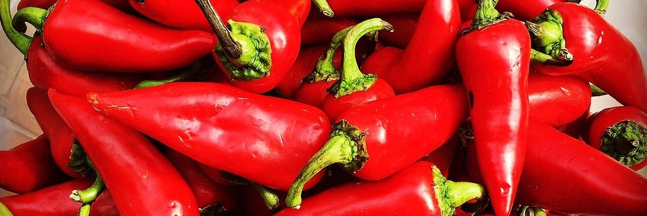 Fresno chiles | Courtesy of El Machete Hot Sauce
