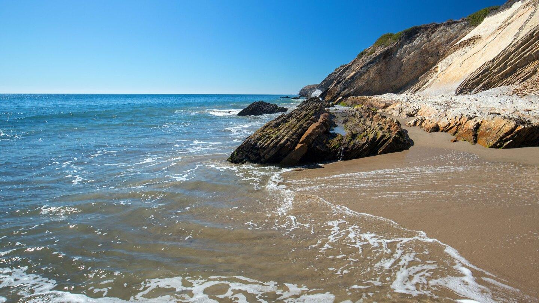 Rocky beach near Hollister Ranch.