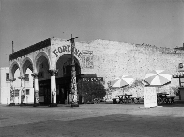 The Gas House, 1960   Security Pacific National Bank Collection, Los Angeles Public Library