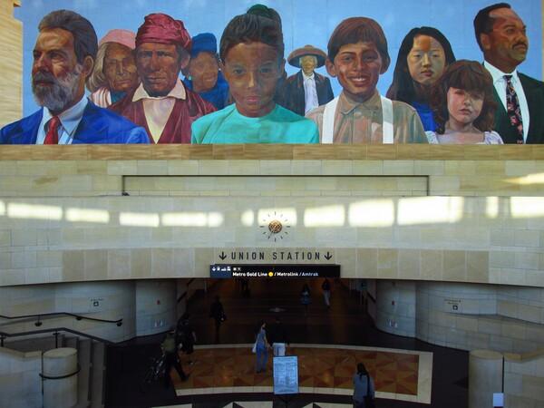 Richard Wyatt's City of Dreams, River of History at Union Station I Photo: Helen Ly