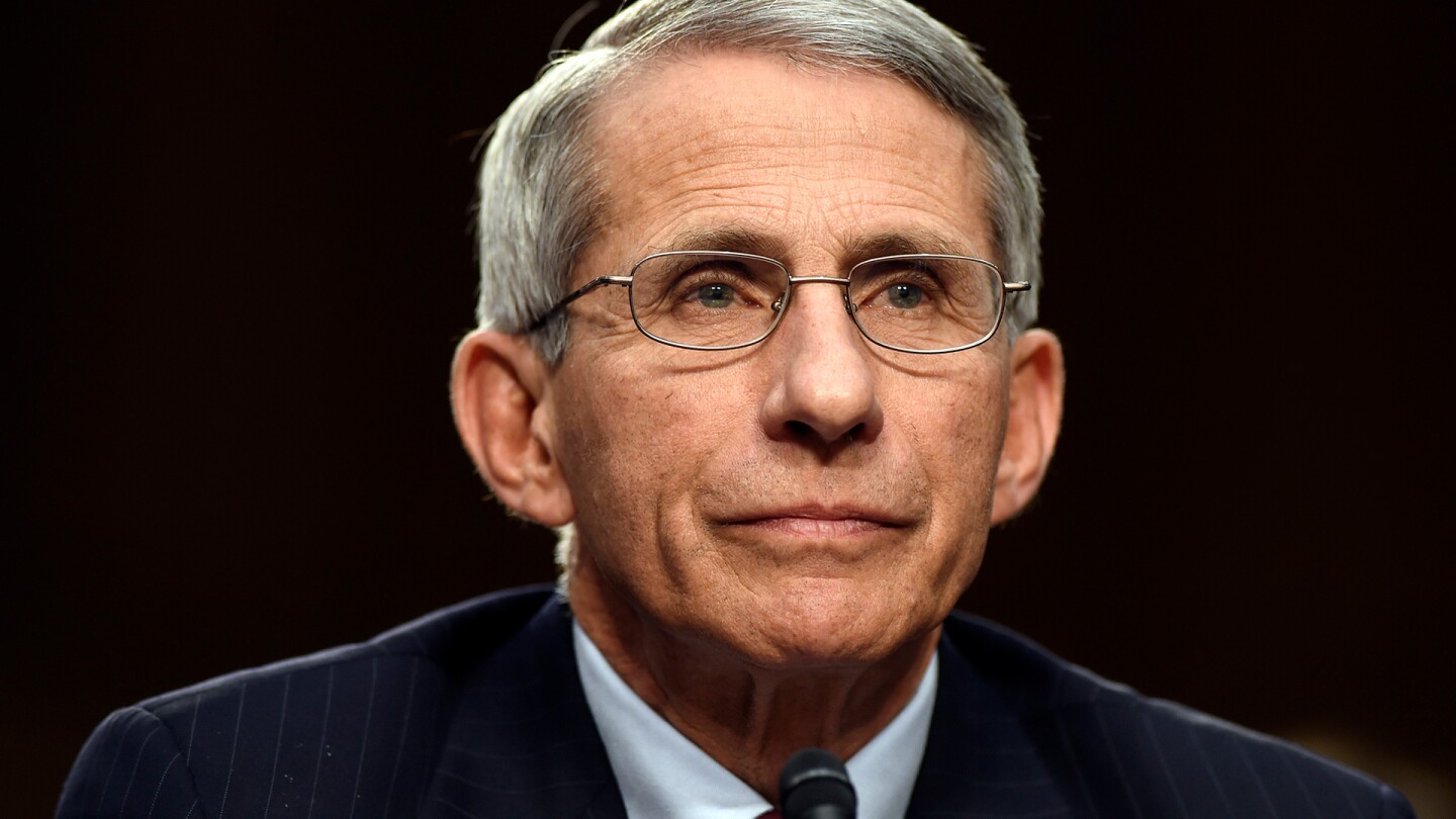 Dr. Anthony Fauci, director of the National Institute of Allergy and Infectious Diseases, testifies on the Ebola outbreak in West Africa on Capitol Hill in Washington, Sept. 16, 2014.