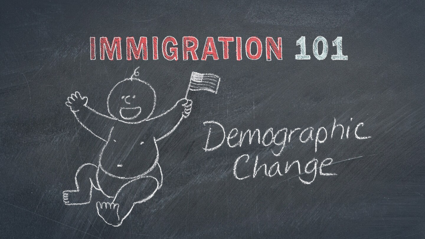Immigration Demographic Change Graphic