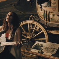 Gaby Moreno plays her guitar at The Autry. | Courtesy of The Autry