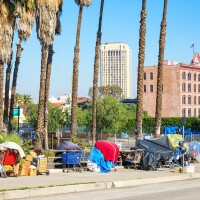 Homelessness Downtown Los Angeles
