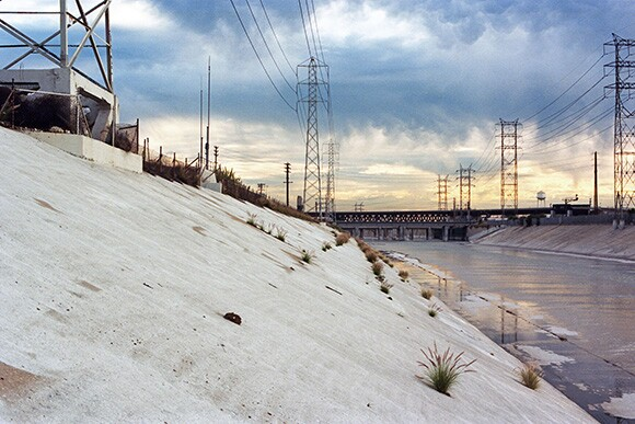 L.A. River and Environs. January 2011. | Photo ©2011 Barron Bixler.