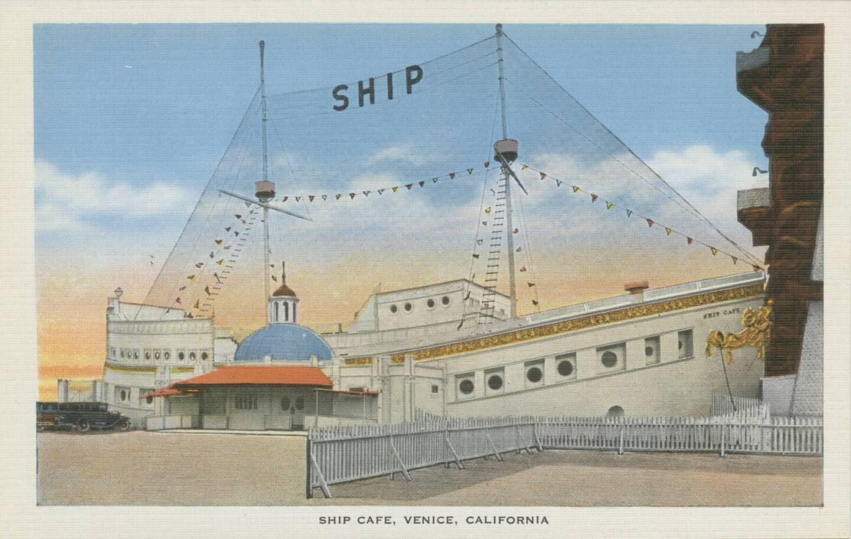 Postcard of the Ship Café