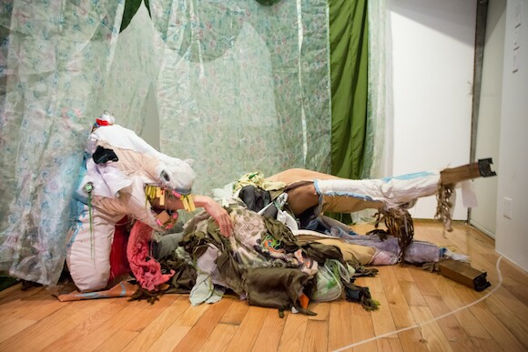 The Pest Horse, in collaboration with Bryatt Bryant   Photo: Cameron Braylock