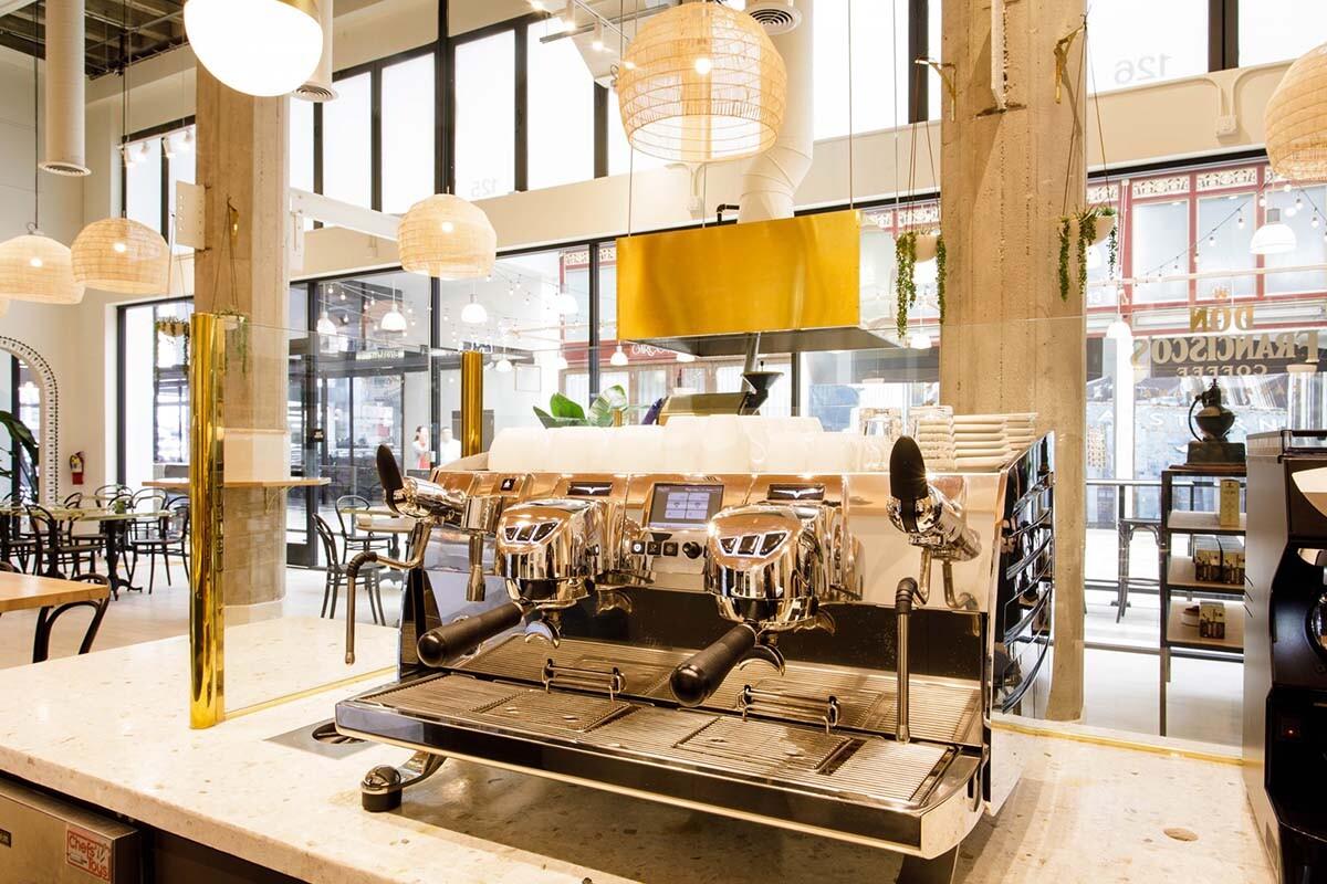 Don Francisco Casa Cubana espresso bar | Courtesy of Gaviña Coffee Company