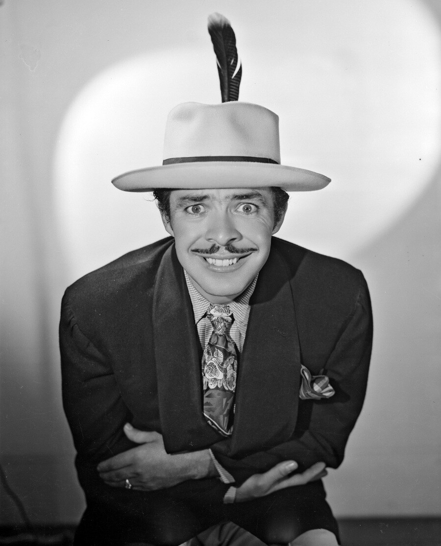 "Germán Valdés ""Tin Tan"" as a pachuco"