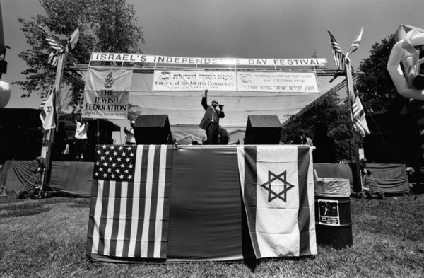 Israel's Independence Day Festival in Van Nuys, 2002.