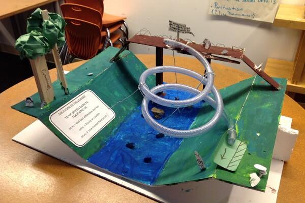 Team Green Egrets: Slide Bridge
