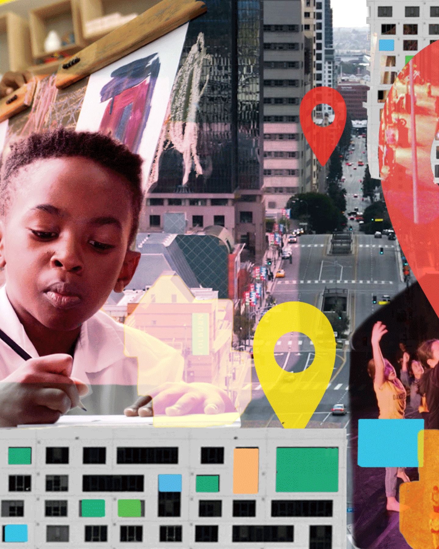 Children and youth engage in arts education throughout Los Angeles County.