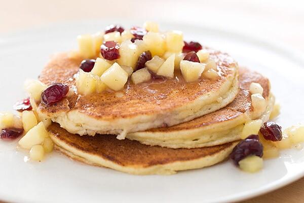Weekend Recipe Lemon Ricotta Pancakes Kcet