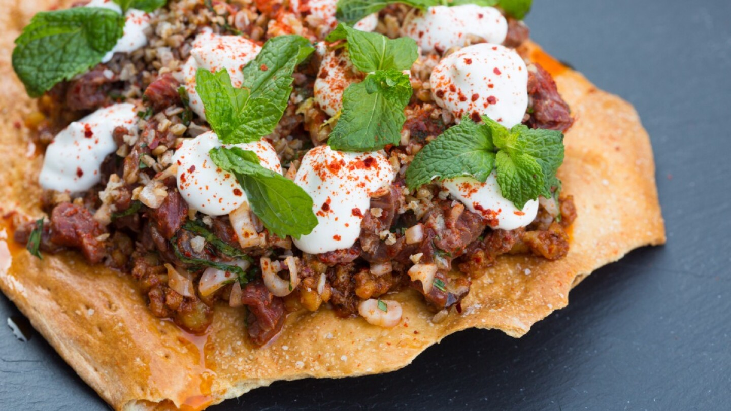 Middle-Eastern Beef Tartare | Carla Choy