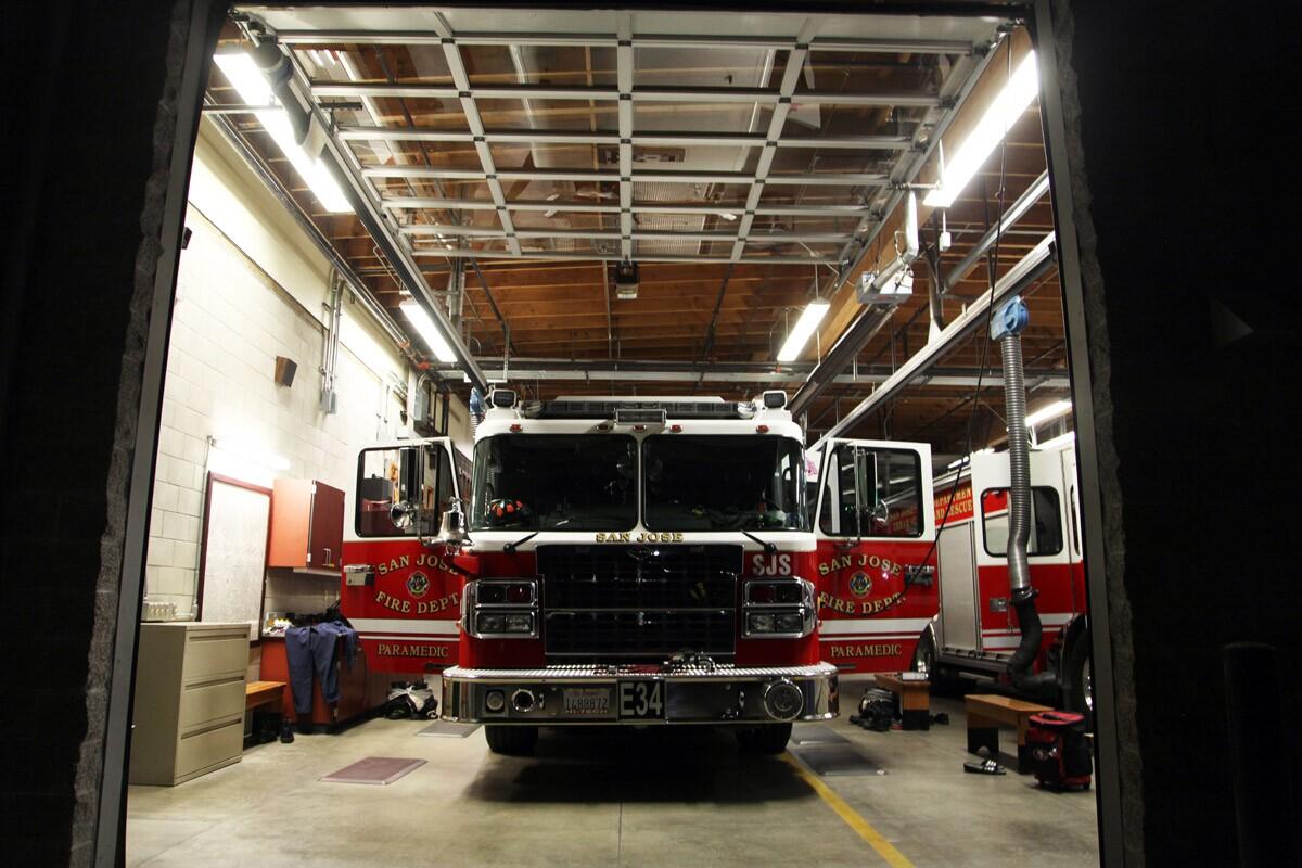 Mark Ramirez Fire truck