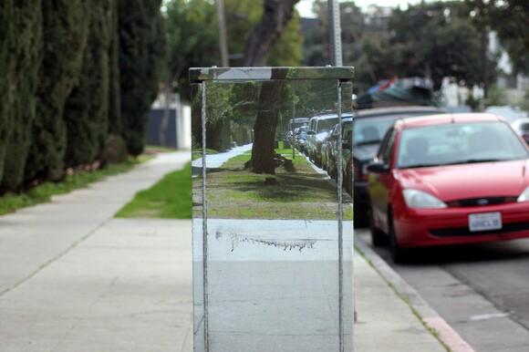 Joshua Callaghan utility box in L.A. | Photo: Courtesy of Artbound