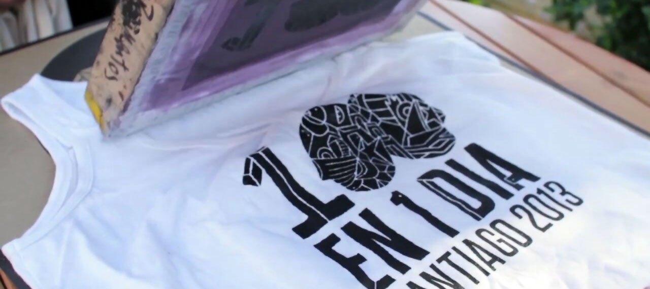 100En1Dia: T-Shirt