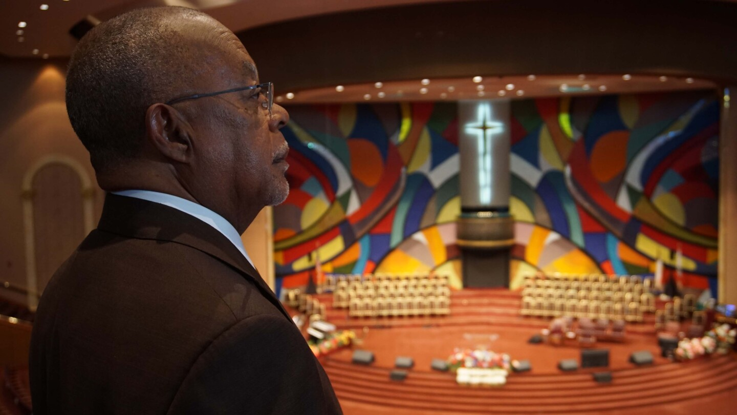 Henry Louis Gates Jr. at Church of God in Christ West Angeles