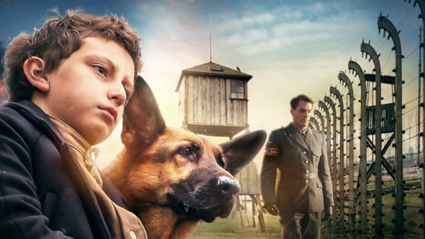"""Key Art for """"Shepherd: The Story of a Jewish Dog."""""""