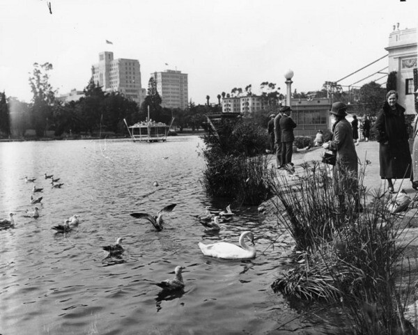 Westlake was once known as L.A.'s answer to the Champes-Élysées | Courtesy of the Los Angeles Public Library