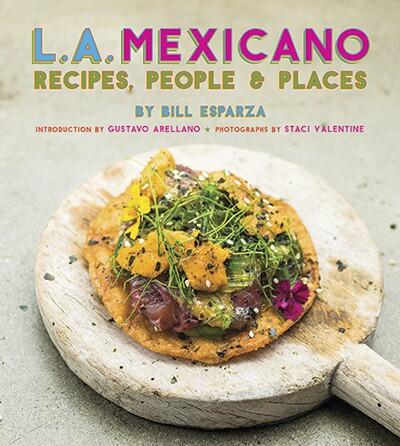 L.A. Mexicano's book cover. | Staci Valentine