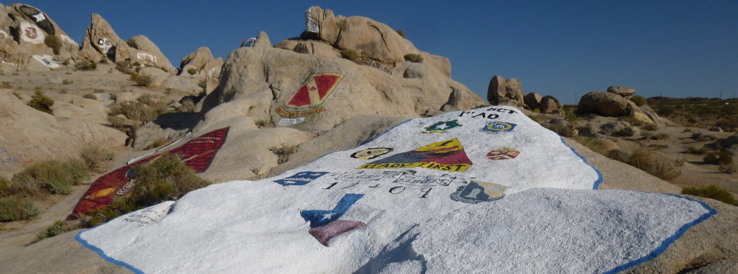 Painted Rocks, Fort Irwin
