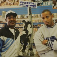 """Kelvin with Warren G shortly after the release of his debut album, """"Regulate…G Funk Era"""" in 1994."""
