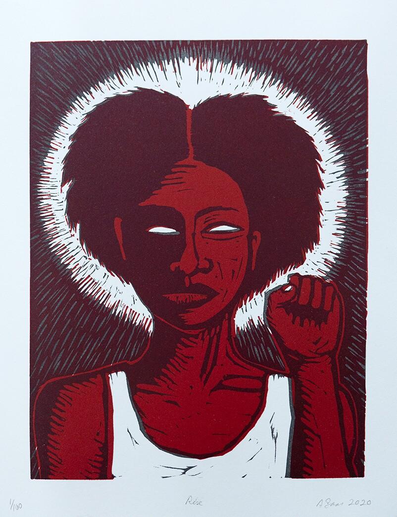 """Rise,"" Alison Saar, 2020 | Courtesy L.A. Louver, Venice, CA"
