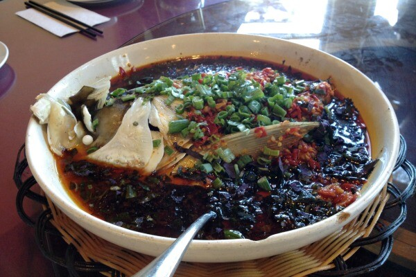 Fish head from Hunan Mao | Photo by Clarissa Wei