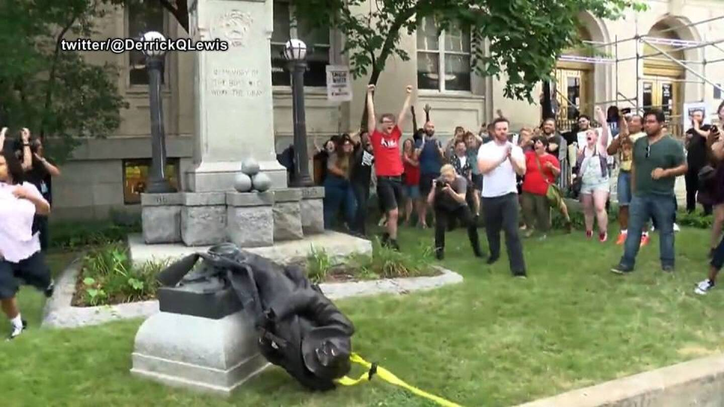Durham, NC: Activists Topple Confederate Statue Amid Nationwide Protests Against White Supremacy