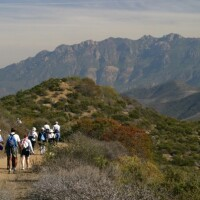 Hiking the western end of the Backbone Trail between the Ray Miller Trailhead to Danielson Multi-use Area | Photo: NPS