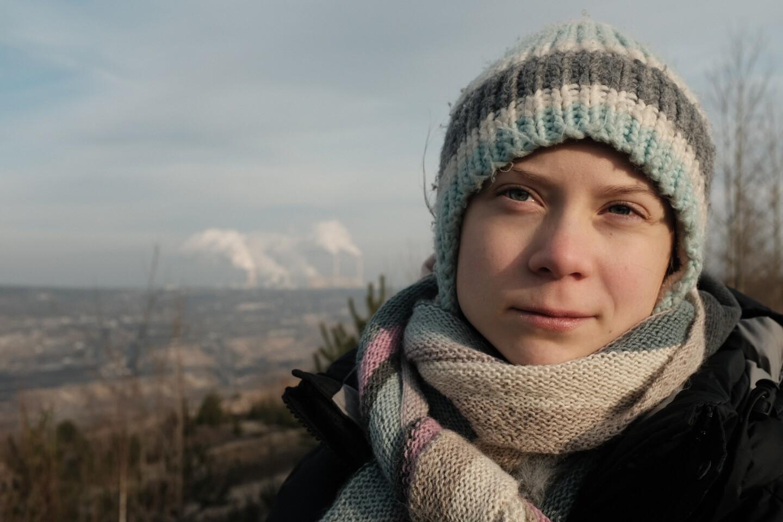 Greta Thunburg in GRETA THUNBERG: A YEAR TO CHANGE THE WORLD (Courtesy of PBS and Jon Sayers copyright of BBC Studios)