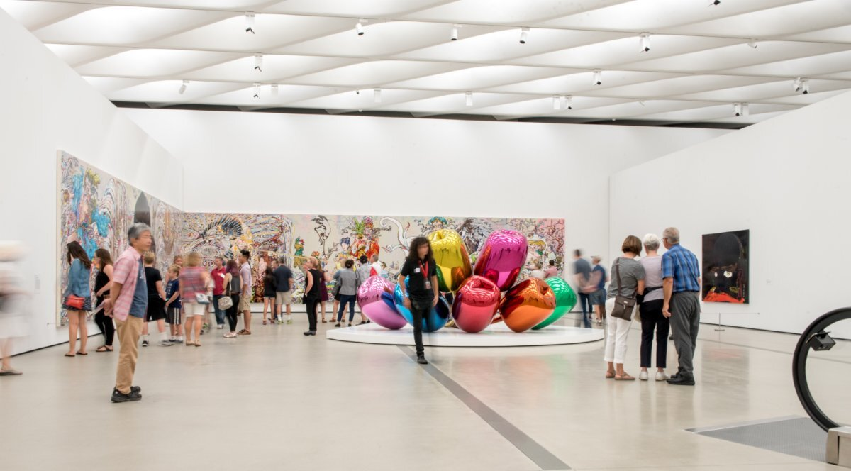 826LA visits the Broad | Courtesy of 826LA